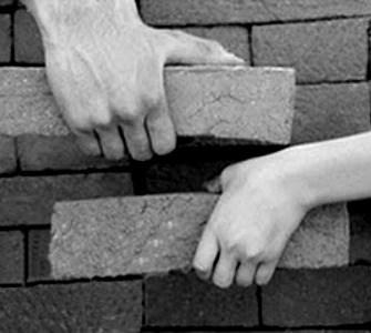 tijolos muro