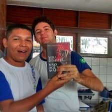 David and book