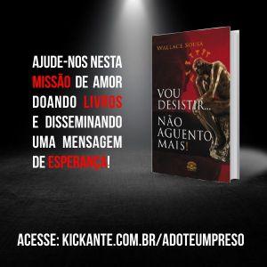 Doe um livro e transforme a vida de um preso brasileiro