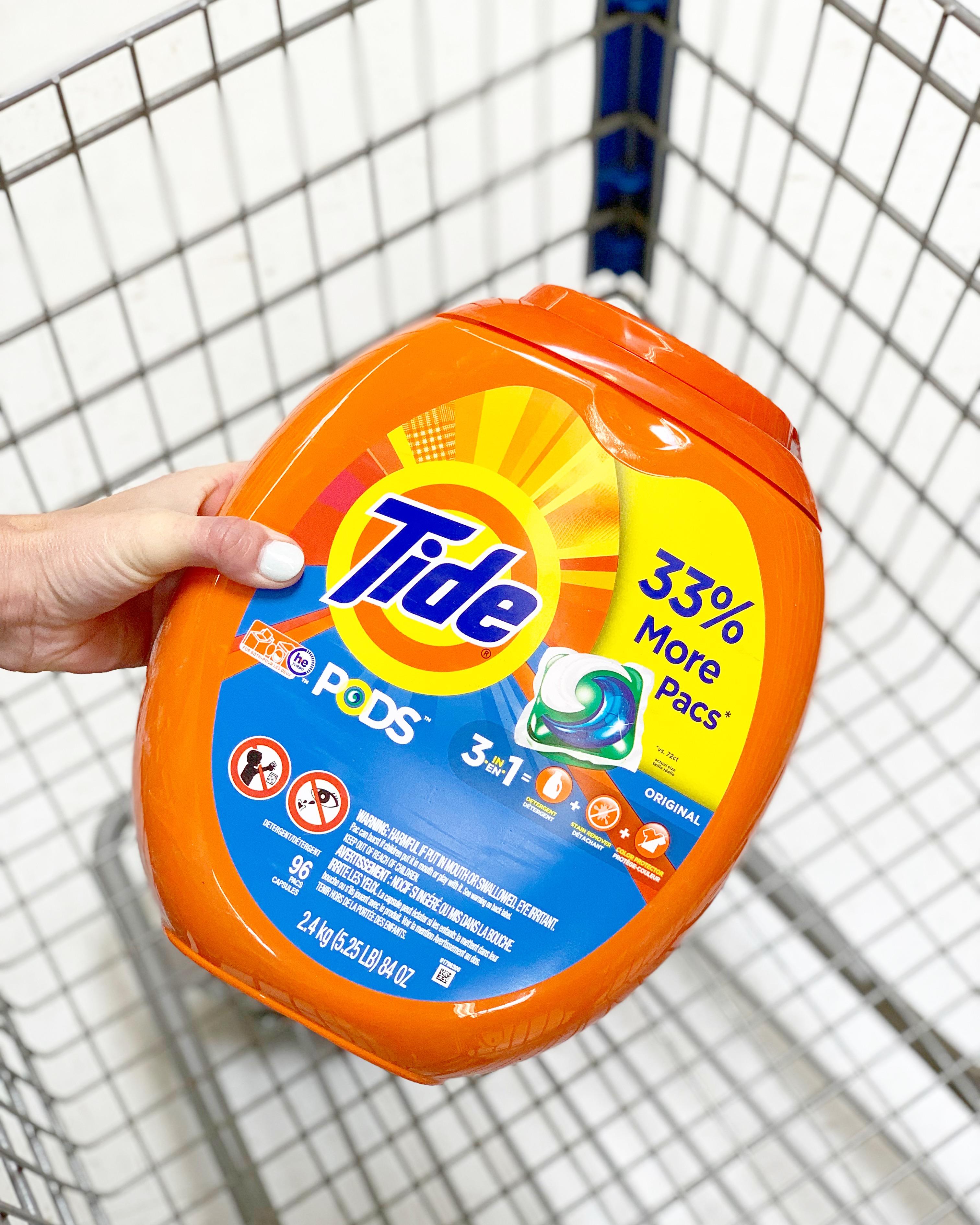 Tide Pods 96 Count Value Pack And 2 Brandsaver Coupon Walmart Finds
