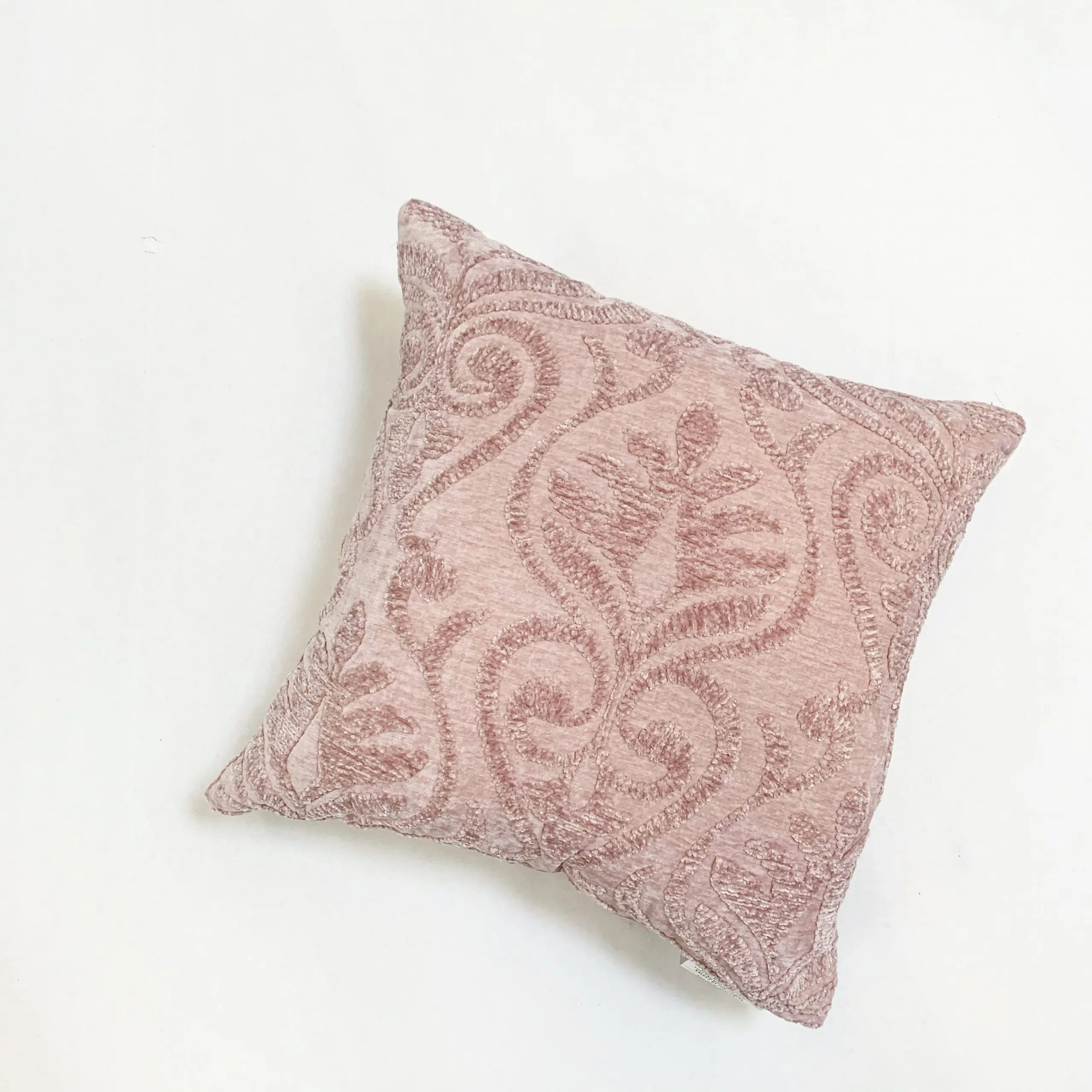 better homes and gardens blush damask pillow