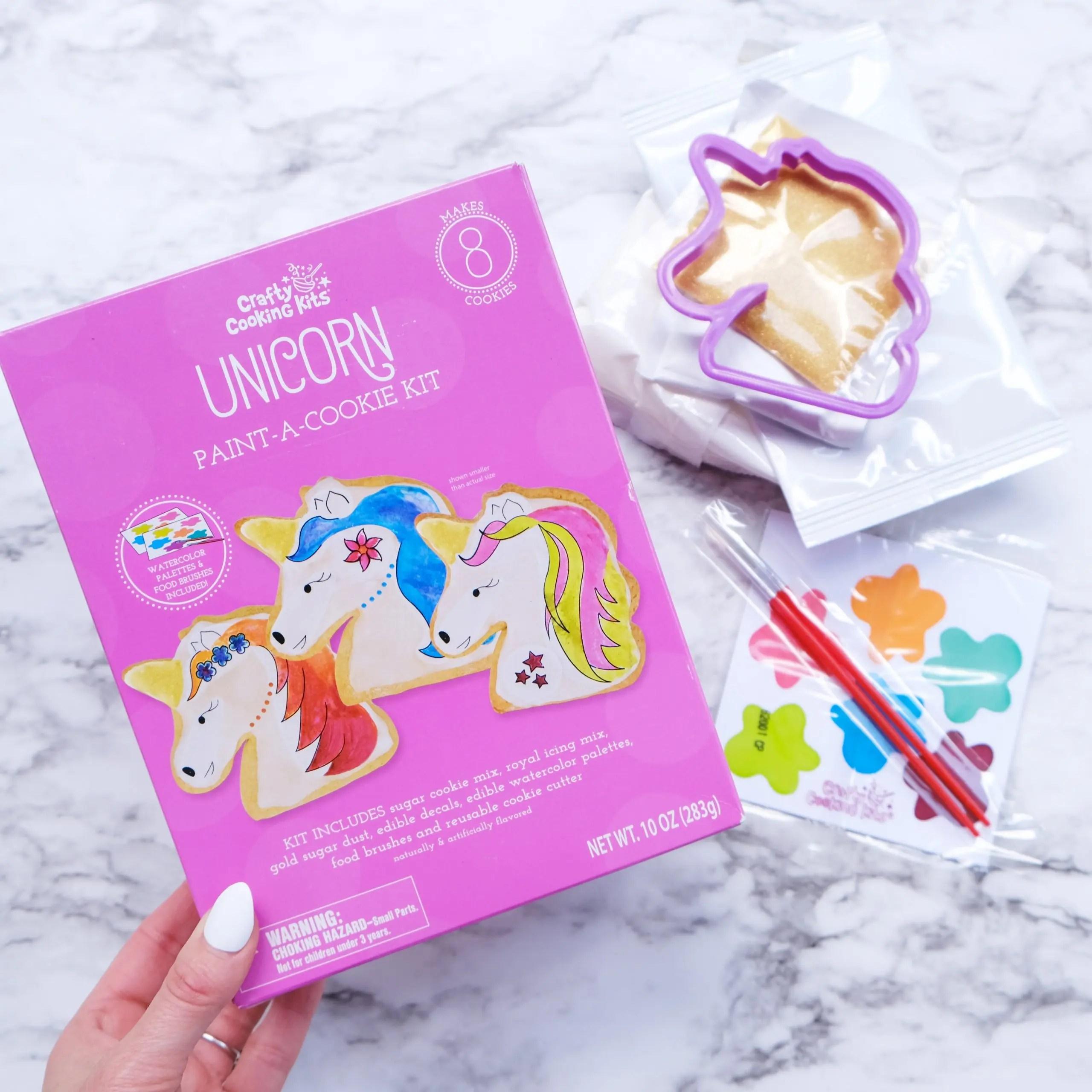 unicorn crafty cooking kits