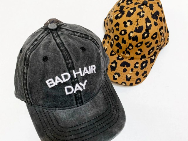 "Time and Tru ""Bad Hair Day"" Cap"