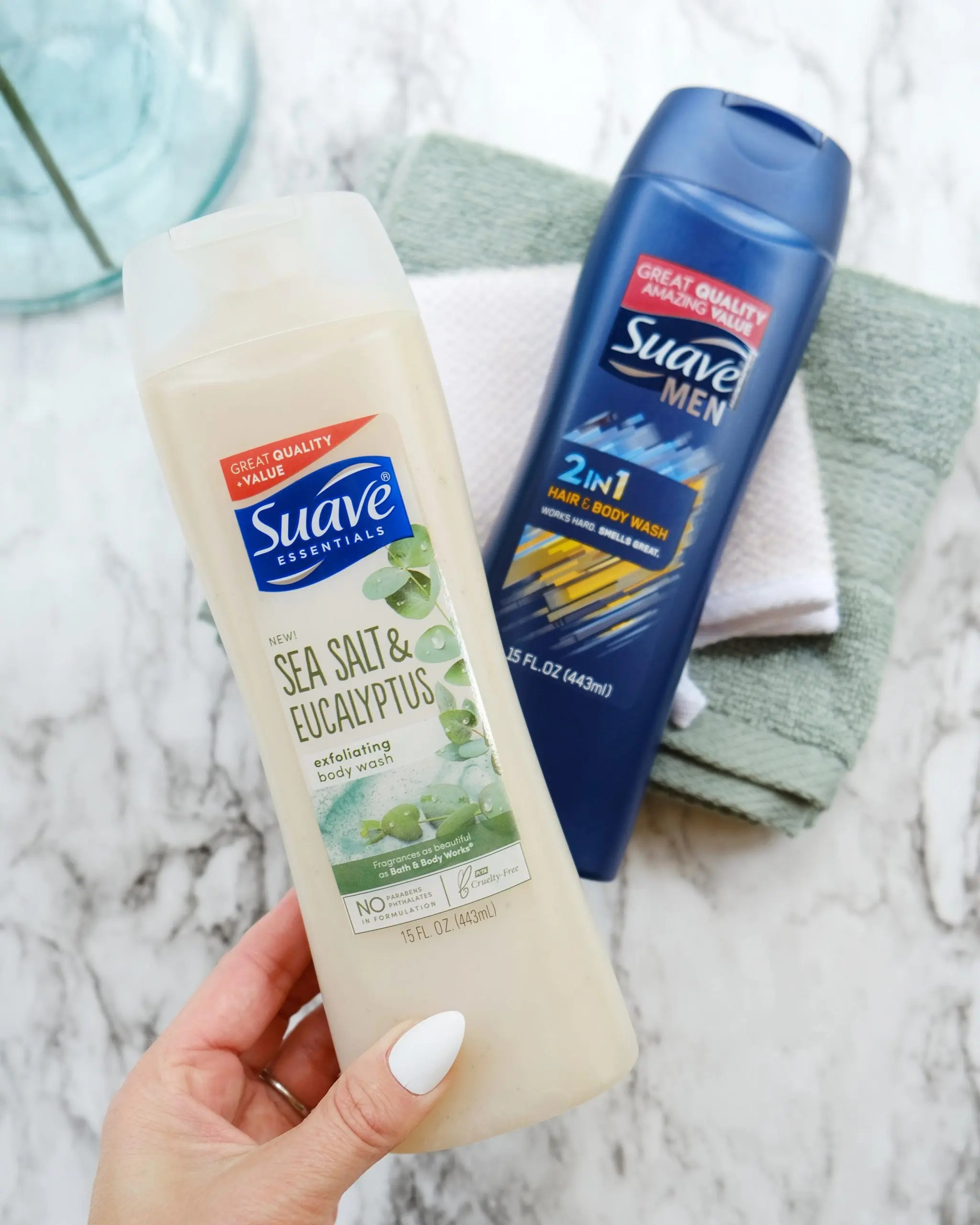 suave men's and women's body wash coupon at walmart