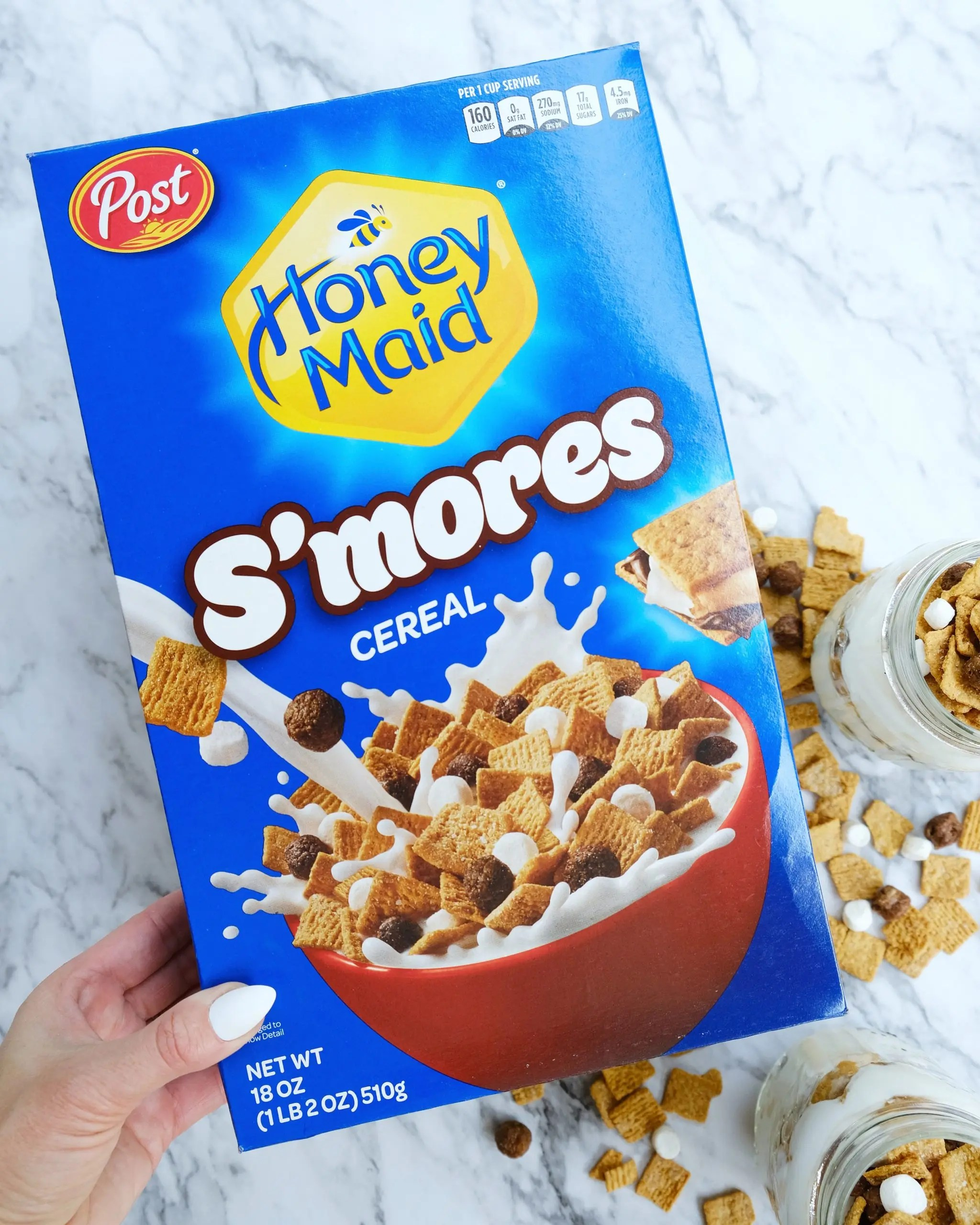 Post Honey Maid S'Mores Breakfast Cereal