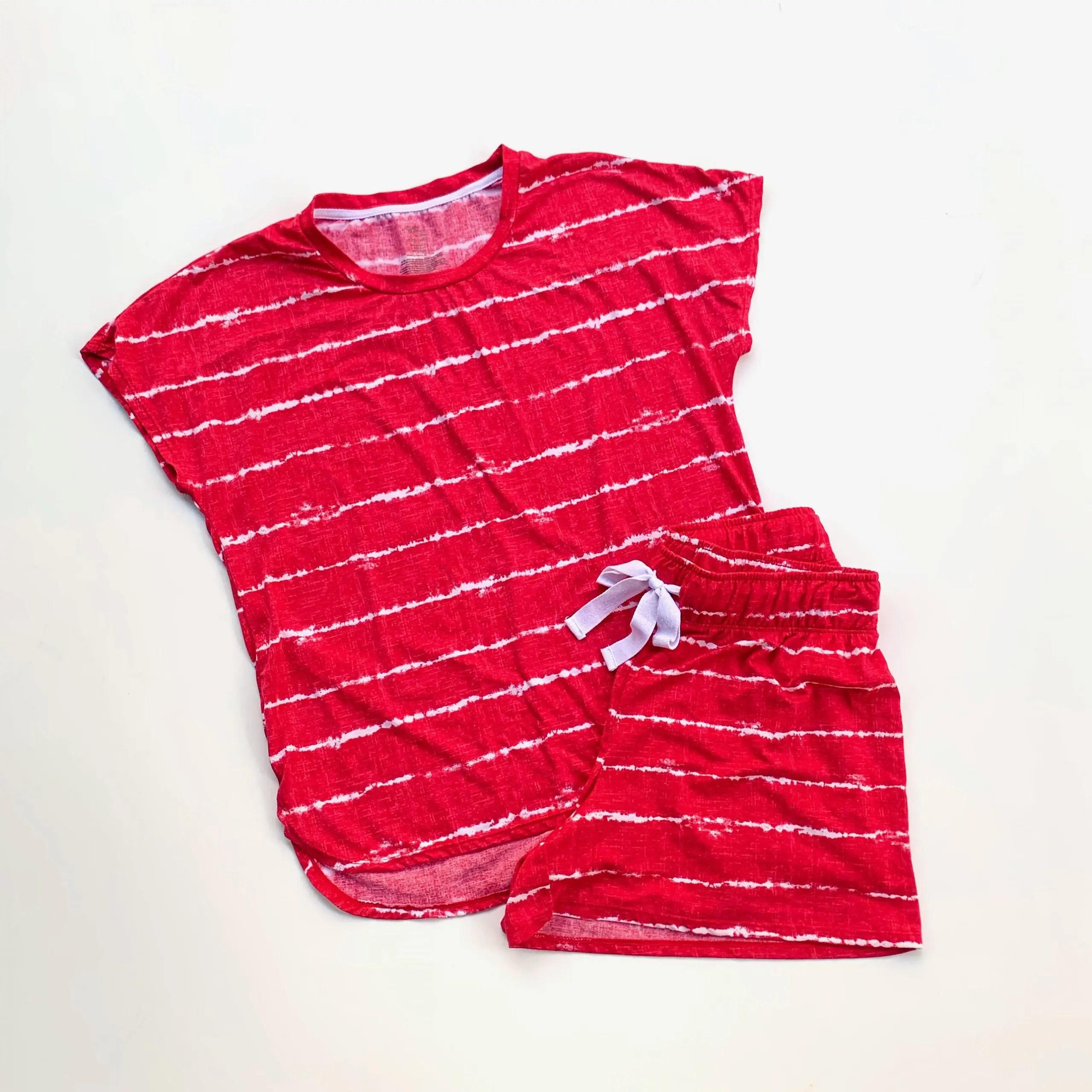 secret treasures shibori stripe pajama set