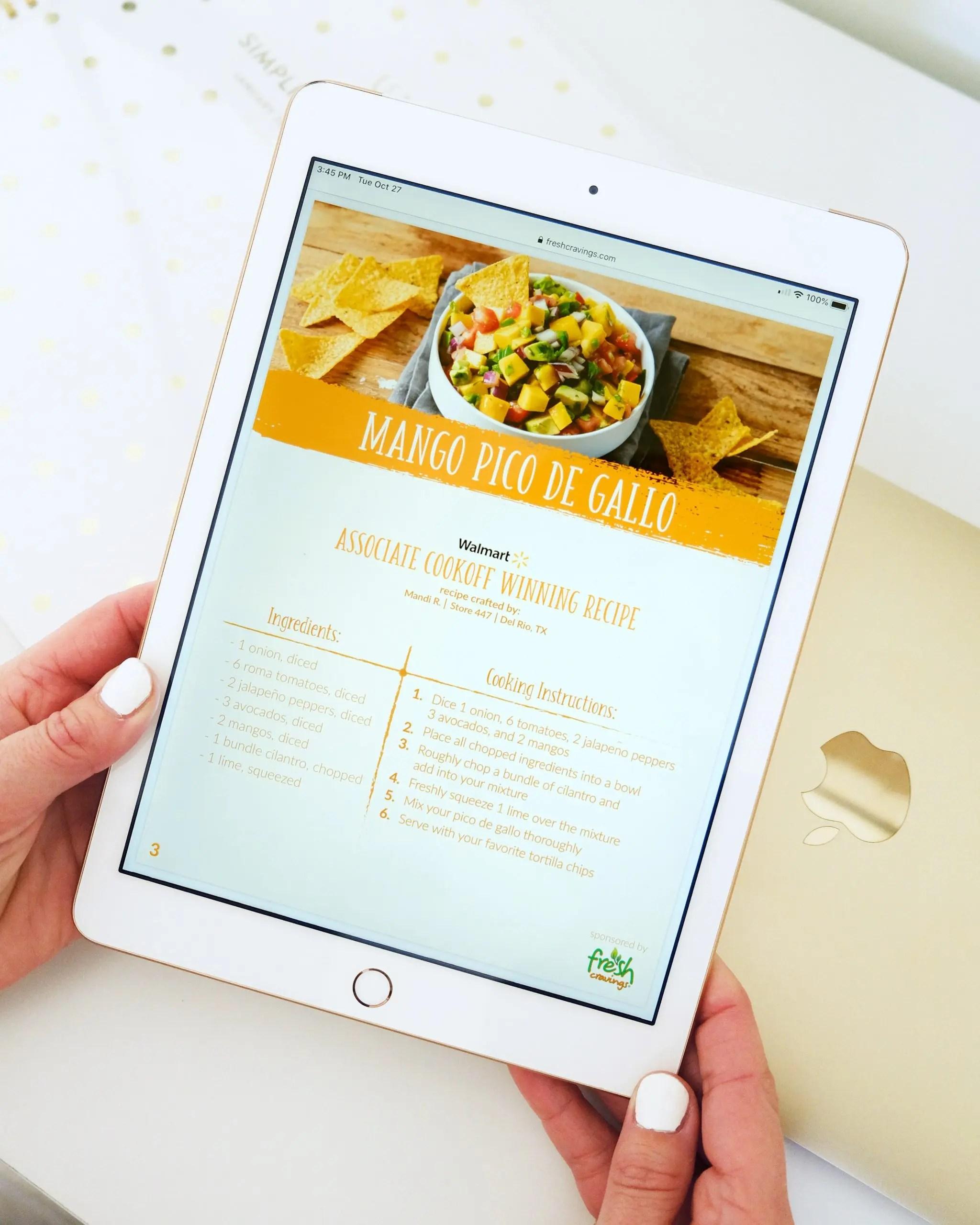 Walmart Associate Cookoff Recipe E-Book
