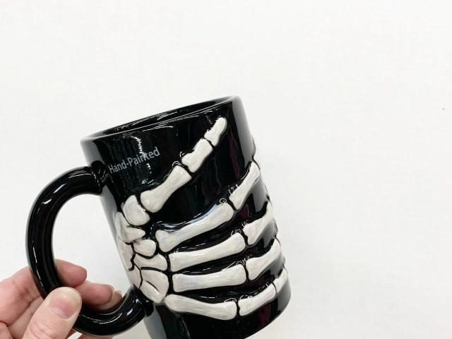 Way To Celebrate Skeleton Hand Mug