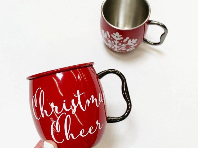 Better Homes and Gardens Holiday Moscow Mule Mugs