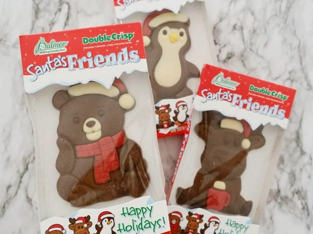 Palmer Santa's Friends Double Crisp Chocolates