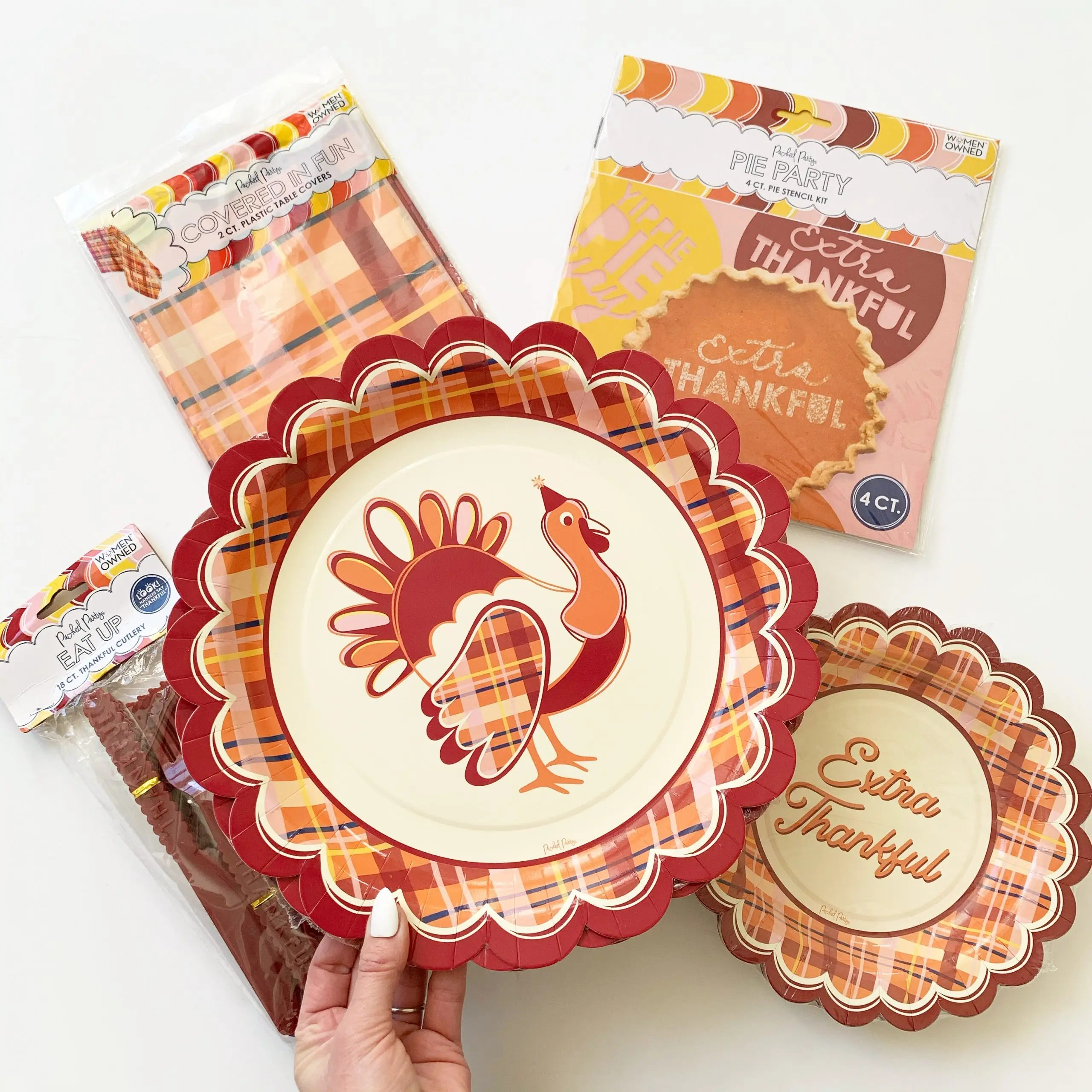 Packed Party Thanksgiving Partyware 2020