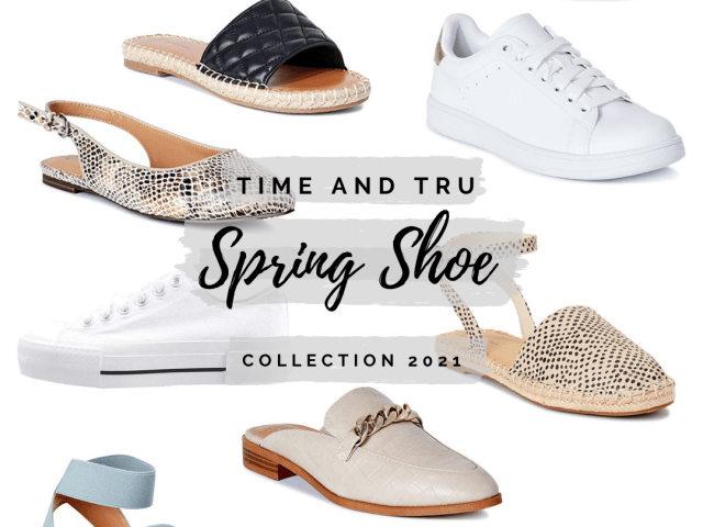 Time and Tru Spring 2021 Shoe Collection