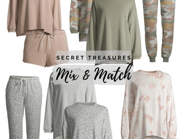 New Secret Treasures Mix & Match Lounge Wear