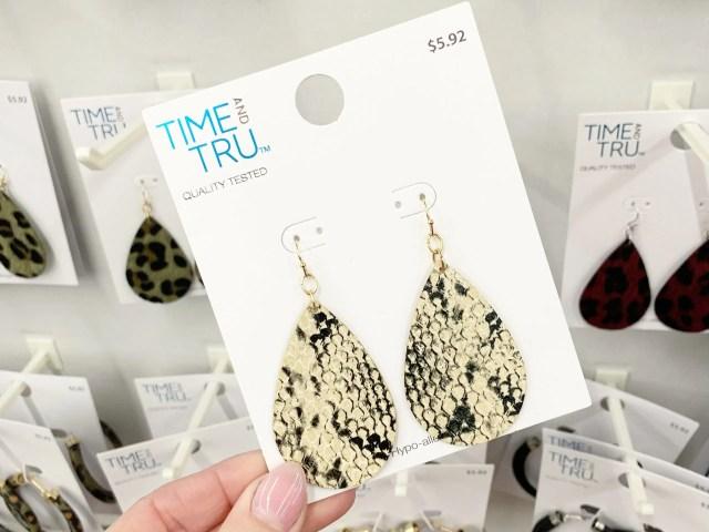 Time and Tru Teardrop Earrings