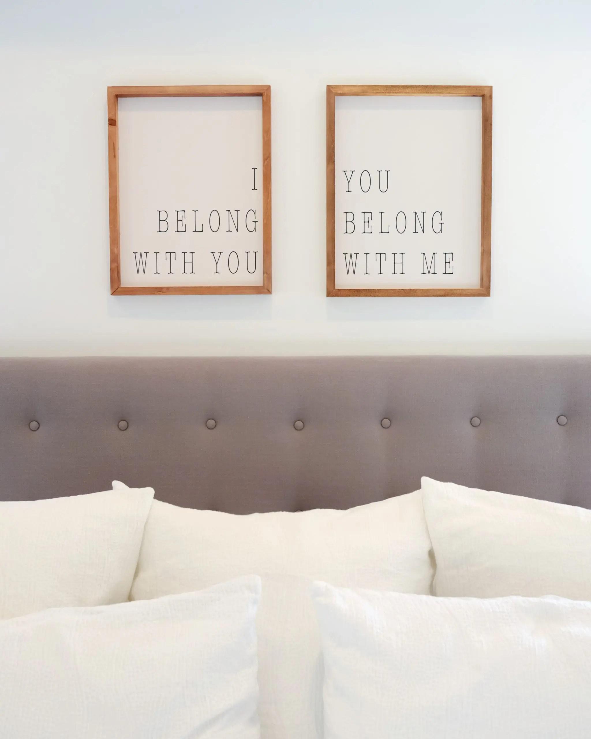 I Belong With You Art Print You belong with me