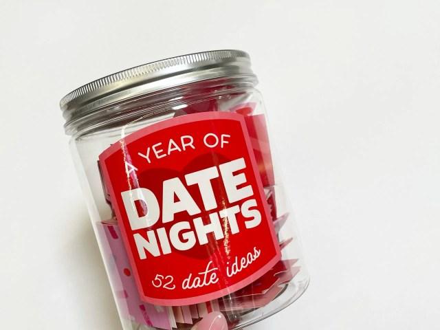 Hallmark Valentine's Day Date Night Jar