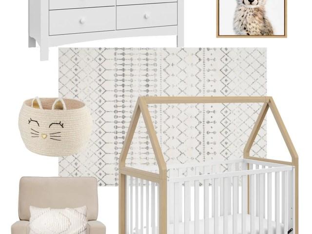 Affordable Neutral Nursery Ideas