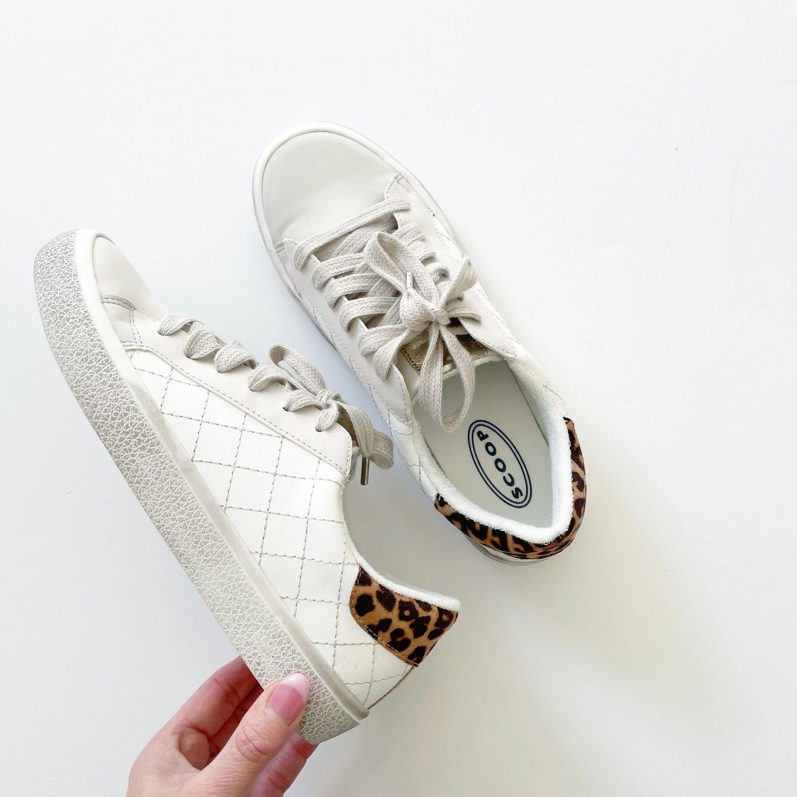 Scoop Women's Distressed Quilted Sneaker