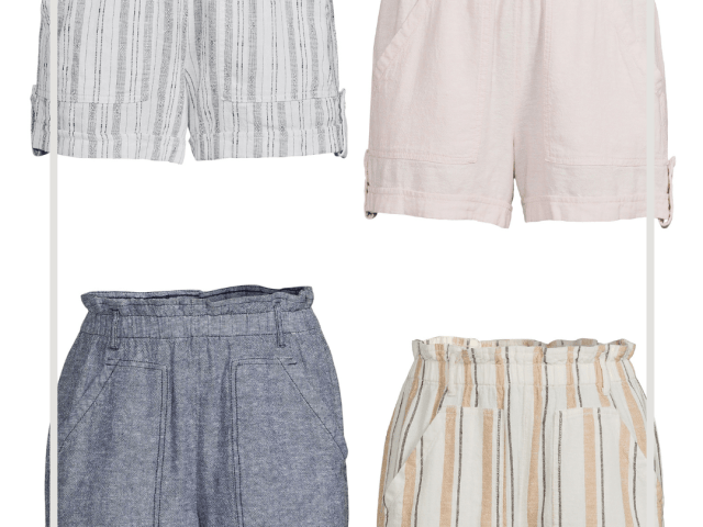 Time and Tru Linen Shorts