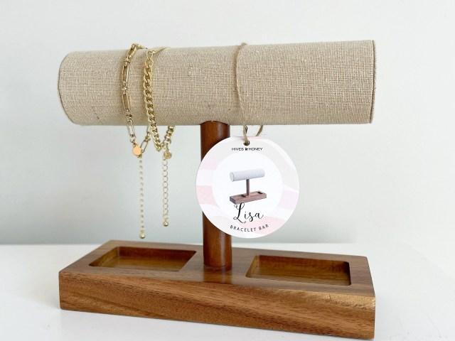 Hives and Honey Lisa Bracelet Bar + Scoop Bracelet Set