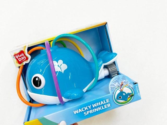 Play Day Wacky Whale Sprinkler