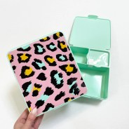 Your Zone Leopard Print Bento Box