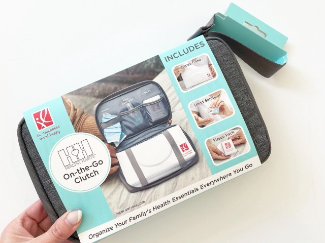 J.L. Childress Healthy Habits On-the-Go Clutch