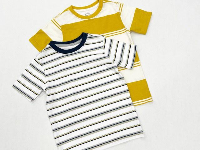 Wonder Nation Boys Stripe Short Sleeve T-Shirt