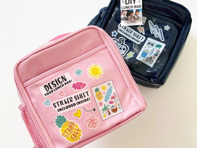 Lunch on the Go Kids – Design Your Own Insulated Lunch Bag