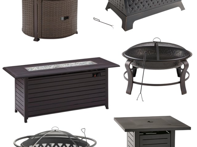 Walmart Gas and Wood Burning Fire Pits