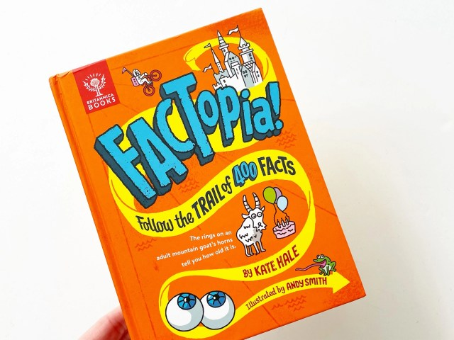 Factopia: Follow the Trail of 400 Facts
