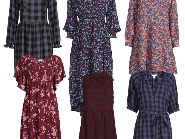 Time and Tru New Fall Dresses