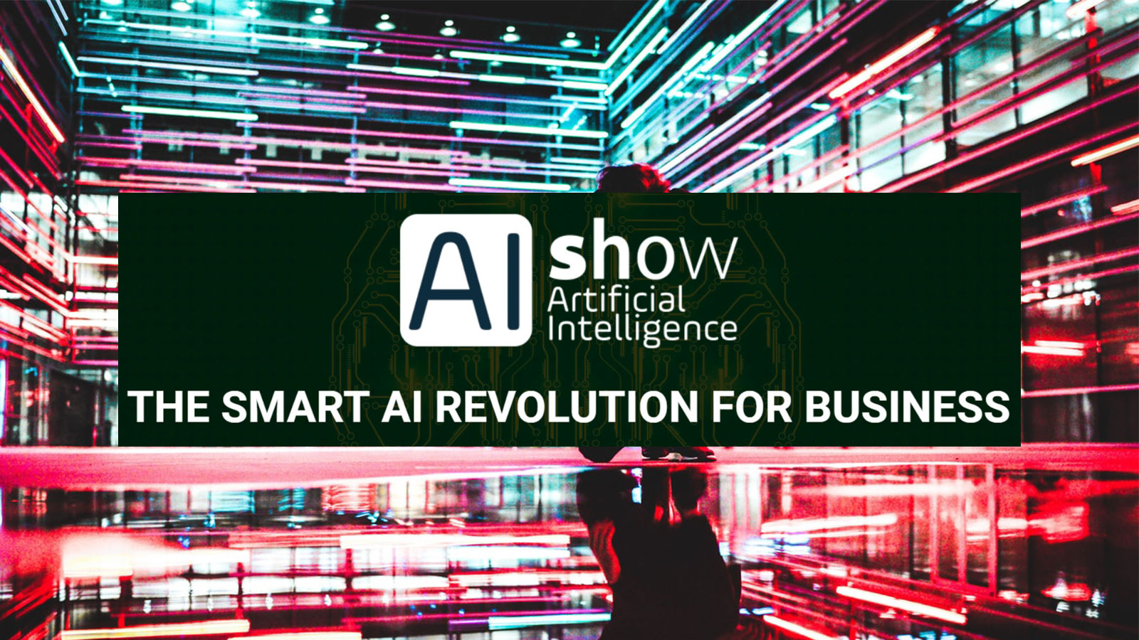 Artificial Intelligence with AIshow event banner