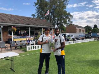 Leading wicket takers Fahim Jan (54) and Recordo Gordon (46)