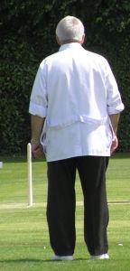 Square leg umpire