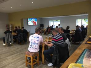 Football on at the Club - Sunday 11th October 2020