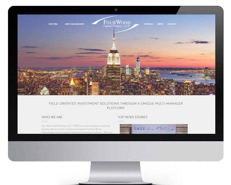 Four Wood Capital Website