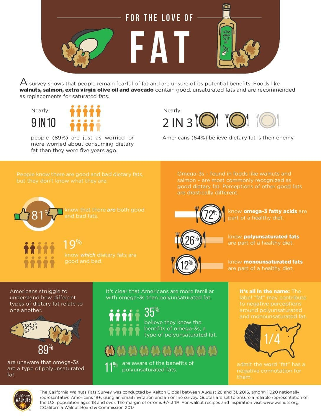 For the Love of Fat Infographic