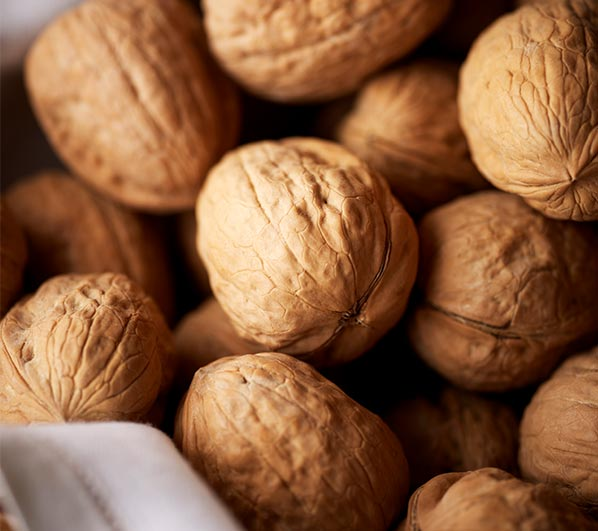 California walnuts in shell