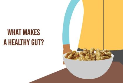 healthy gut walnuts video