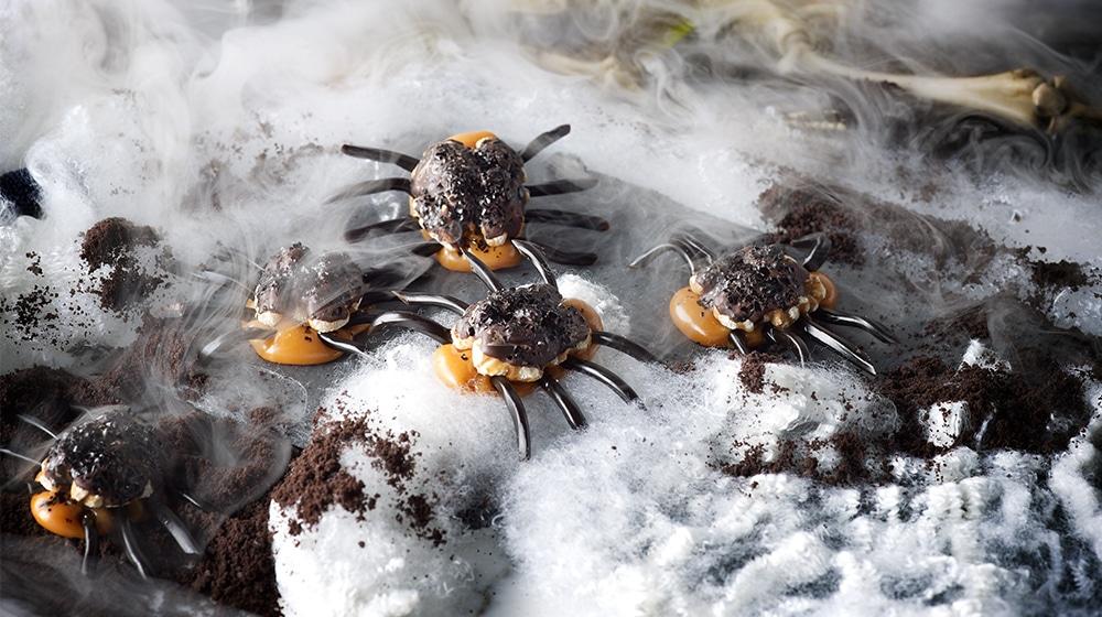 Caramel Spiders