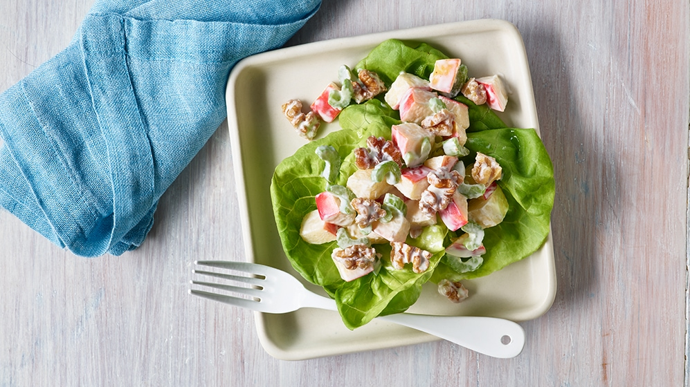 Walnut Waldorf Salad