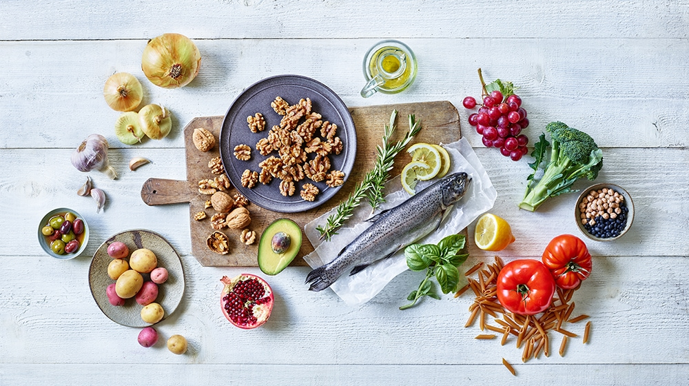 Mediterranean Diet Spread Healthy Fats