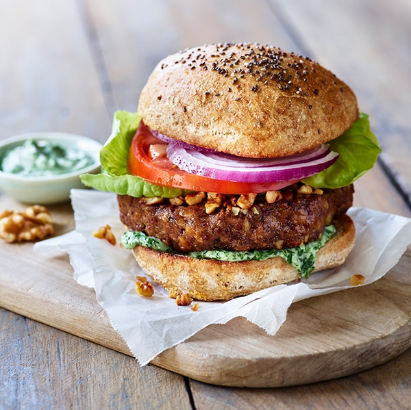 Walnut Omega Burger