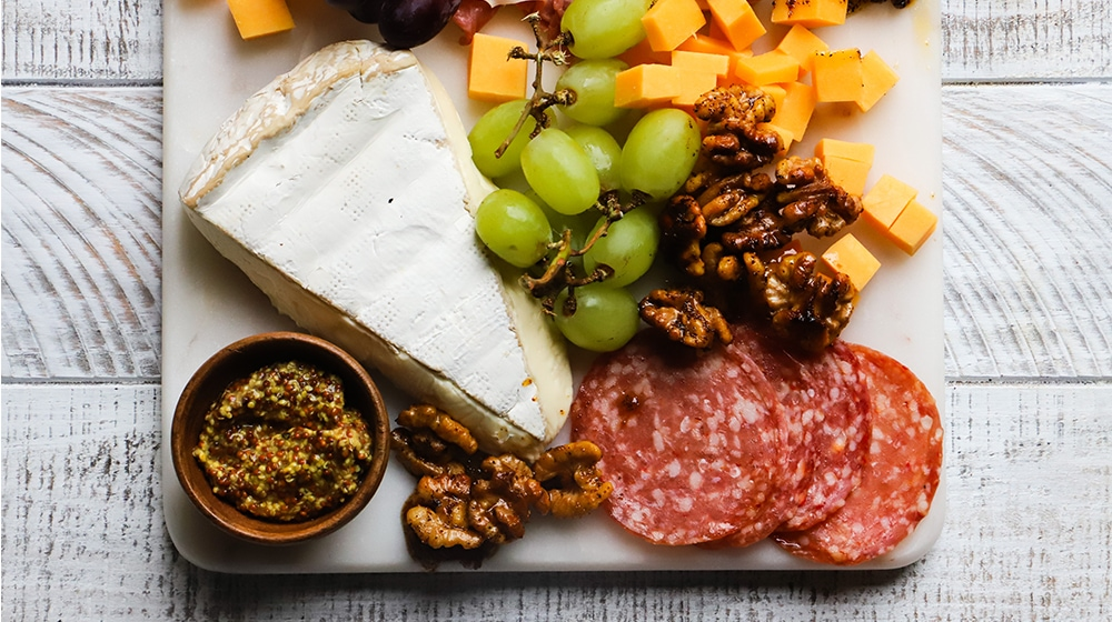 Charcuterie with Walnuts