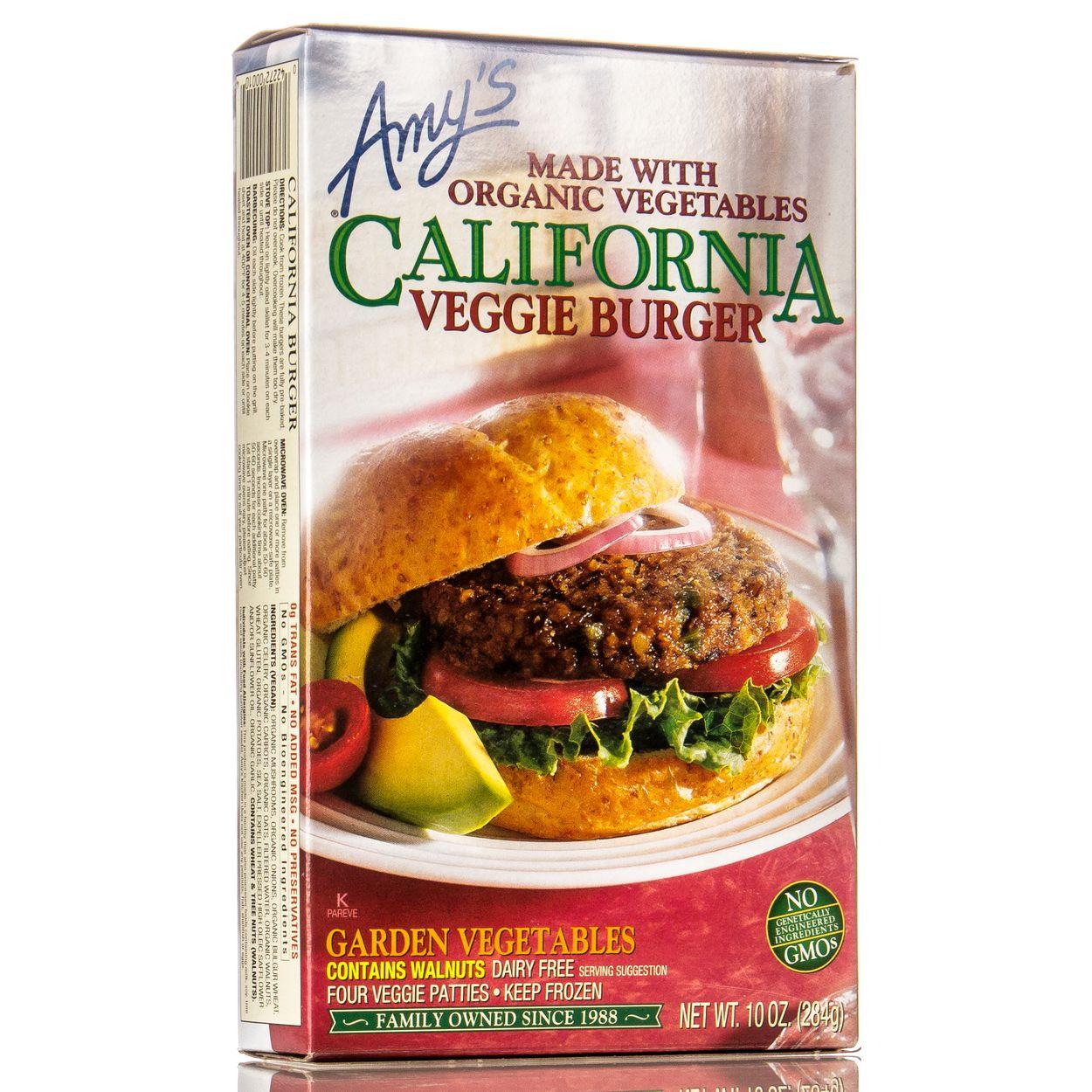 Amys Kitchen - California Walnut Burgers