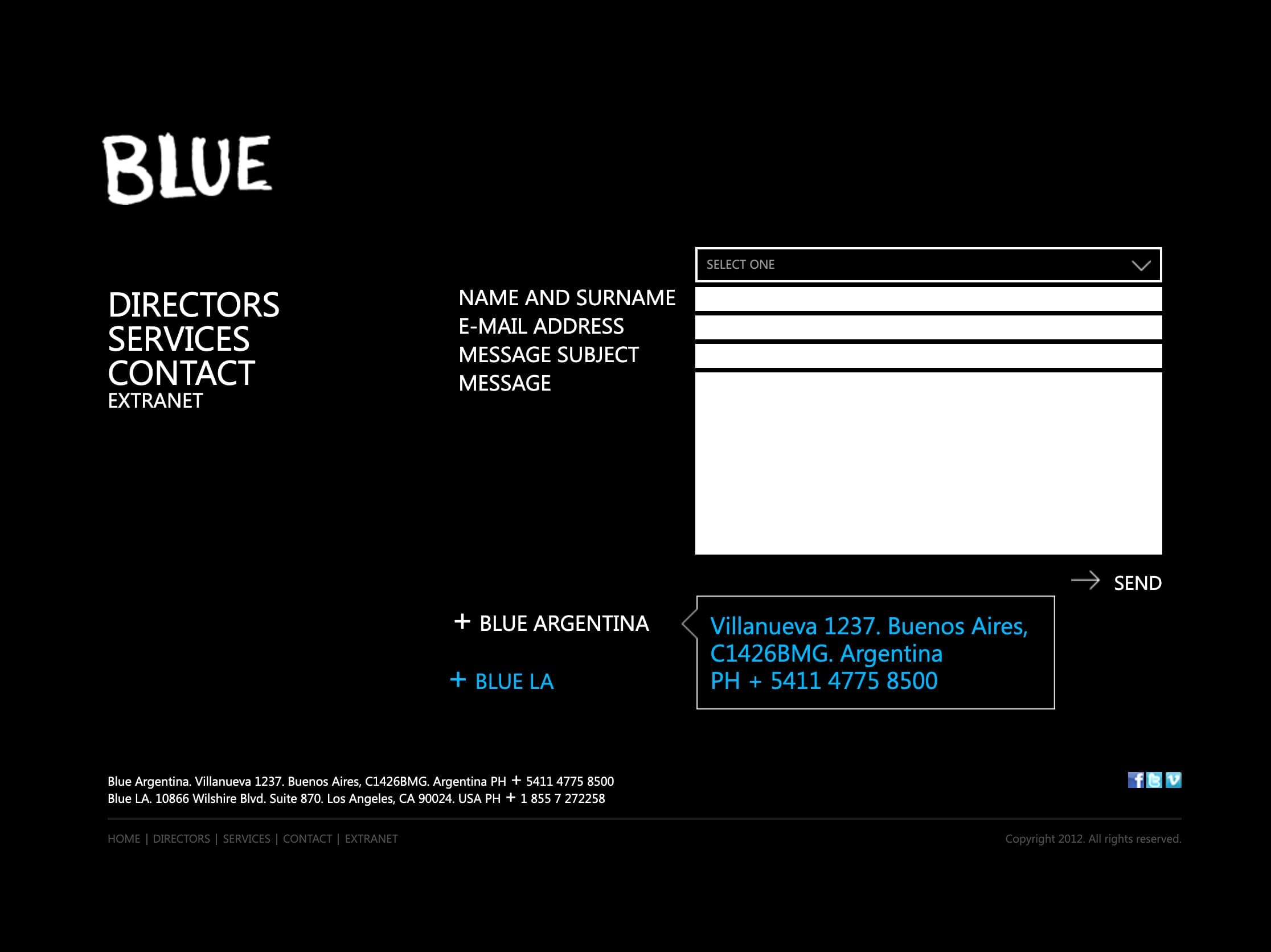 Blue Productora