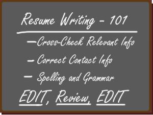 resume-101