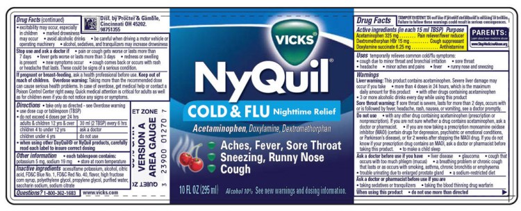 Combining DayQuil & NyQuil For Nighttime Use
