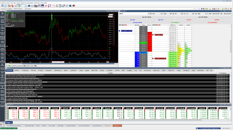 Walsh Continental Trader Screenshot